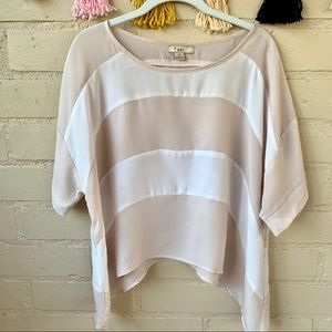 Forever 21 Handkerchief Style top Large